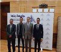 محمد زكي رئيسا لاتحاد طلاب جامعة بنها