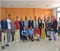 رئيس جامعة مطروح يشهد فعاليات انتخاب رئيس الاتحاد ورؤساء اللجان
