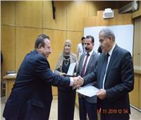 وزير التموين يكرم العاملين المتميزين بمديريات التموين والتجارة الداخلية