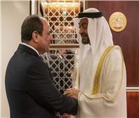 الرئيس السيسي ومحمد بن زايد.. 12 زيارة متبادلة خلال خمس سنوات