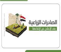 إنفوجراف | تعرف على ترتيب الصادرات الزراعية المصرية