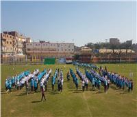 افتتاح المهرجان الرياضي لتلميذات المدارس تحت شعار «فتاة المستقبل»