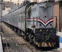 سقوط طالب من قطار في دمنهور