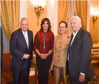 وزيرة الهجرة تشارك في مؤتمر «كيميت بطرس غالي للسلام والمعرفة»