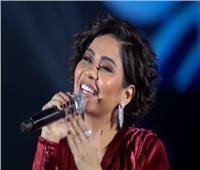 صور وفيديو| شيرين تتألق بـ«الأحمر» في حفل «موسم الرياض»