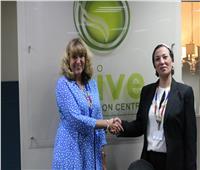 وزيرة البيئةتناقش مع ممثلة الاتحاد الأوروبي الاستفادة من تجارب الاقتصاد الدوار
