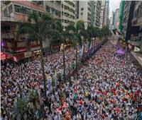 هونج كونج تندد بالاعتداء على وزيرة العدل خلال زيارتها للندن