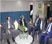 وزيرة البيئة تجتمع مع رئيس اتفاقية الأمم المتحدة لمكافحة التصحر