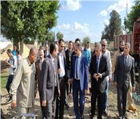سكرتير عام محافظة البحيرة يتفقد الوحدة الصحية لقرية دفشو بكفر الدوار