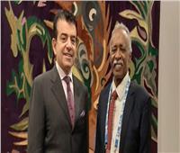 المدير العام للإيسيسكو يلتقي وزير التعليم السوداني بباريس