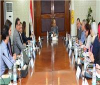 «وزير التنمية المحلية» يستعرض مع البنك الدولي مستجدات برنامج تنمية الصعيد