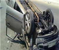 بالأسماء.. إصابة 7 أشخاص في انقلاب سيارة بملوي