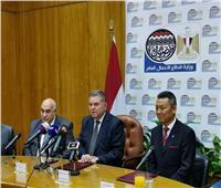 """وزير قطاع الأعمال يشهد توقيع عقد بين القابضة للغزل والنسيج و """"Handa"""" الصينية"""