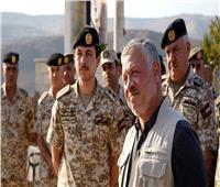 بعد استردادها من إسرائيل.. ملك الأردن يتجول بالغمر