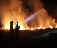 إضرام النيران في مقر للشرطة بمدينة كرج شمال غرب طهران