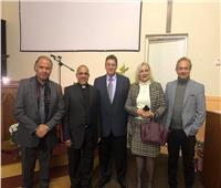 تنصيب القس جاد الله نجيب أول قس مصري بكنيسة «وارزين» الإنجليزية