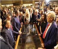 صور| لأول مرة.. توابيت «خبيئة العساسيف» في المتحف المصري أمام الجمهور