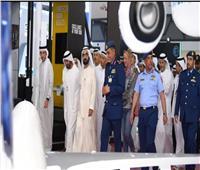 محمد بن راشد يتفقد سير العمل لاستقبال معرض دبي الدولي للطيران 2019 اليوم