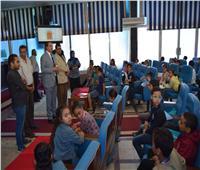 جامعة الطفل بسوهاج تبدأ أولى محاضرات العام الدراسي الجديد