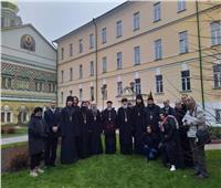 وفد إكليريكي قبطي يزور الكليات اللاهوتية بروسيا