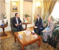 وزير التعليم العالي يستقبل سفير بيلاروسيا بالقاهرة