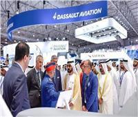 صور| بن راشد وبن زايد يفتتحان معرض دبي للطيران