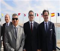 صور| مشاركة وزير الآثار باحتفالية 150 عاما على افتتاح قناة السويس