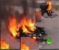 فيديو| متظاهرون يغلقون الطرقات في بغداد والبصرة بالإطارات المشتعلة