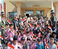 الجيش الثاني الميداني ينظم زيارات لطلبة المدارس إلى قطاع تأمين شمال سيناء