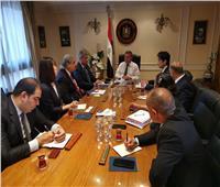 وزير قطاع الأعمال العام يستقبل وفدًا من «اليابان لحلول الغذاء»