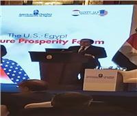الملا أمام منتدى التعاون المصري الأمريكي: نعتبر الغاز وسيلة تعاون