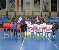 صور| مصر تفوز على الإمارات في الكأس الإقليمى لـ«الفلوربول»
