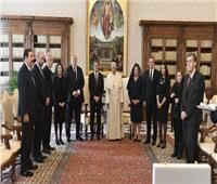 البابا فرنسيس يستقبل رئيس جمهورية قبرص