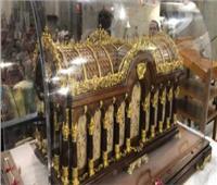كنيسة القديس كيرلس الكبير تستقبل رفات القديسة تريزا