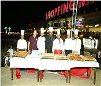صور|انطلاق فعاليات المسابقة الثانية لمهرجان الطهاة بشرم الشيخ