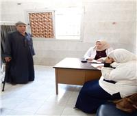 قافلة طبية بالوحدة الصحية بقرية الأحراز بمدينة شبين القناطر