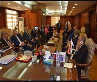 صور| رئيس «الدستورية العليا»: النيابة الإدارية إحدى ركائز منظومة مكافحة الفساد