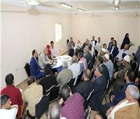 محافظ المنوفية يعقد لقاءً مفتوحًا للاستماع لشكاوى «كفر داود»