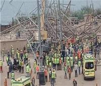 حبس مقاول و3 مشرفين في واقعة انهيار برج كهرباء بأوسيم