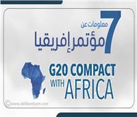 إنفوجراف| 7 معلومات عن «قمة الشراكة مع أفريقيا»