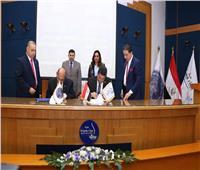توقيع بروتوكول ترخيص استغلال رصيفي 5 و6لمحطة دمياط لتداول الحاويات