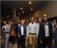 وزير الآثار يتفقد آخر المستجدات بمتحف كفر الشيخ