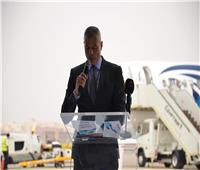 فيديو  الطيار أحمد عادل يستعرض إمكانياتAirbus A220-300 بمعرض دبي للطيران