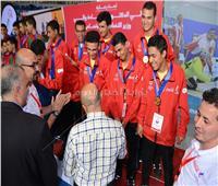 الوفود العربية بكأس «لفوربول» تهنئ منتخب مصر بالتأهل لأولمبياد طوكيو