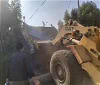 حملة مكبرة لاسترداد أراضي الدولة بمدينة طوخ بالقليوبية