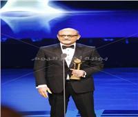 شريف عرفة يتسلم جائزة فاتن حمامة التقديرية من مهرجان القاهرة السينمائي الدولي