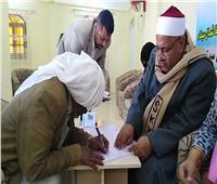 استخراج الأوراق الثبوتية الرسمية للمواطنين في قرية الجدي بسيناء