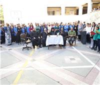 محدث الكنيسة يتفقد مدرسة الملاك ميخائيل في عيدها السنوي