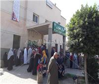 توقيع الكشف الطبي على 1486 مريضا فىقافلة طبية بإحدى قرى حوش عيسى