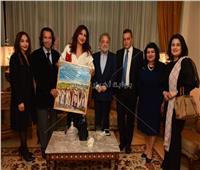 صور| السفير المصري بالمغرب يستقبل ضيوف مهرجان الرباط لسينما المؤلف